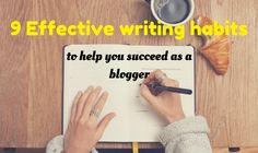 Effective writing is one skill that you need to practice if you want to succeed with blogging because writing is involved in every bit of blogging.