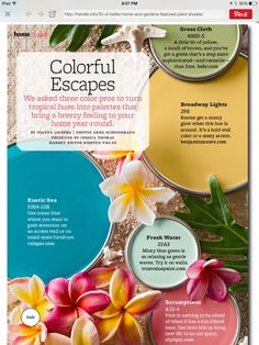 Better Homes and Gardens Colorful Escapes