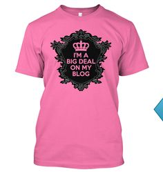 I totally want this shirt! I REALLY REALLY REALLY want this shirt the crown is absolutely perfect