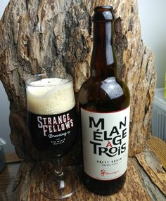"""From Strange Fellows Brewing in Vancouver comes their last of the 2017 Fellowship beers in the """"Mélange À Trois"""" a Brett Bruin. For the full review click on the link below.   https://wp.me/p2vssO-eGU"""