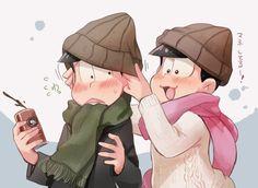 おそ松さん Osomatsu-san  チョロ松&トド松 同じ帽子