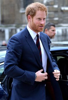 Pin for Later: Prince Harry Looking Dashing in a Suit and Tie Is Exactly What Your Day Needs
