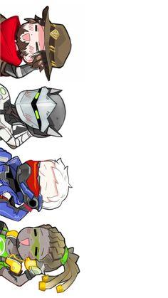 Mccree, Genji, Soldier76, Rucio, Overwatch | Tumblr