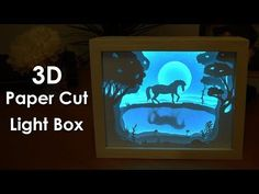 How to Create a 3D Paper Cut Light Box | DIY Project: 12 Steps (with Pictures)