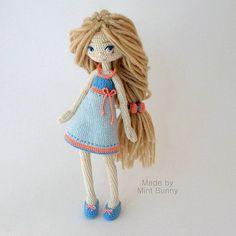Yulia, happy dollmaker @mint.bunny Кажется, кое-кто ...Instagram photo | Websta (Webstagram)