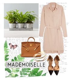 """Chic Mademoiselle"" by siberianmoon ❤ liked on Polyvore featuring Equipment, Chanel, Hermès and Cartier"