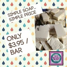 Don't wash your $ down the drain…just your soap!    #simplesoap #simpleprice #newmexico_igers #newmexicotrue #soap #greatprice #nmlife #lascruces #naturalsoap #handcraftedsoap