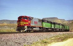 https://flic.kr/p/M4q8CG | BNSF SD75I 8282 | BNSF Westbound Grain Train passes…