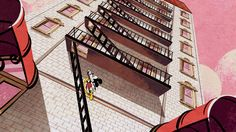 The fire escape's quirky history in urban life Fire Escape, Urban Life, New York City, Stairs, History, Illustration, Painting, Inspiration, Stairway