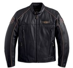 Men's Limited Edition 110th Anniversary Leather Jacket. 97145-13VM