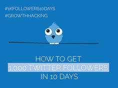 #Twitter Day 1 - Get 1,000 Twitter Followers in 10 Days [#1kfollowers10days #GrowthHacking] Get Twitter Followers, Growth Hacking, Competitor Analysis, Pinterest Marketing, 10 Days, Social Media Marketing, Advertising, Journey, Posts