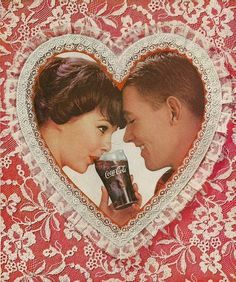 Vintage Coke/ Coca-Cola Advertisements of the (Page My Funny Valentine, Valentines Day Date, Vintage Valentines, Valentine Ideas, Coca Cola Poster, Coca Cola Ad, Always Coca Cola, Pinup, Coca Cola History