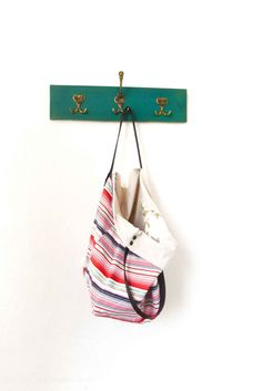 Tote bag... Casual... reversible... 33... &leather by byALLAmade
