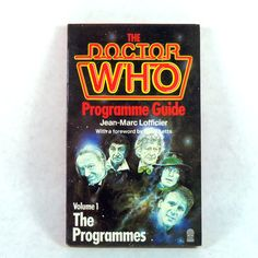 The Doctor Who Programme Guide Volume One