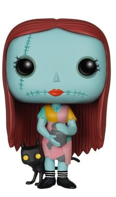 Nightmare Before Christmas - Sally With Nightshade: POP Disney: NBC - Sally with Nightshade from Funko! Figure stands 3 inches and comes in a window display box. Check out the other POP figures from Funko! Collect them all. Pop Figures, Vinyl Figures, Action Figures, Funko Pop, Jack Disney, Disney Play, Jack Y Sally, Pop Goes The Weasel, Sally Nightmare Before Christmas