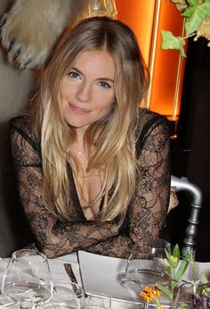 Sienna Miller - serious hair envy!