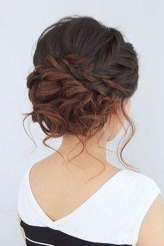Idées de mariage | Mes guides de mariage: de superbes idées de coiffures de mariage tressées ...