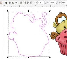 Great Inkscape tutorial on creating cut template for printables!!!