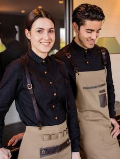 Cafe Uniform, Waiter Uniform, Hotel Uniform, Uniform Shop, Kellner Uniform, Bartender Uniform, Waitress Outfit, Waitress Apron, Cafe Shop Design