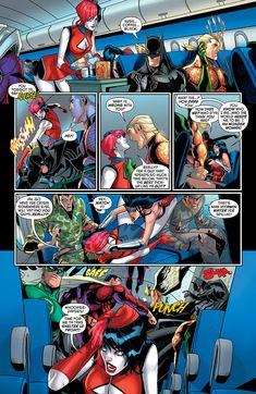 Preview: Harley Quinn #20, Harley Quinn #20 Story: Amanda Conner, Jimmy…