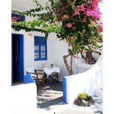 Greek Islands Print Blue And White Decor Mediterranean Wall Art 370 Czk