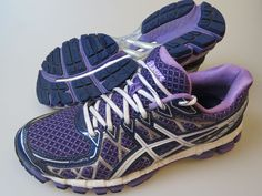 ASICS T397N Purple GEL KAYANO 20 Women's 9.5 Medium Running Shoes #ASICS #RunningCrossTraining