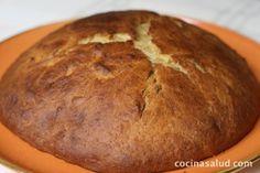 Coca de patata al aceite de oliva. www.cocinasalud.com