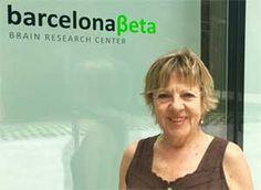 Maria Carme, voluntaria de la Fundación Pasqual Maragall, primera voluntaria española del European Prevention of Alzheimer's Dementia (EPAD)