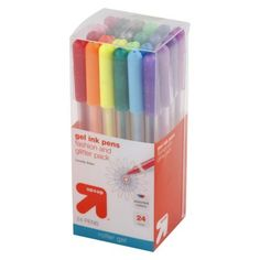 Great gel pens to write on cards! I love Targets brand of products!!!