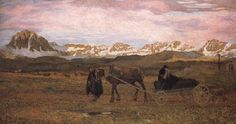 Returning Home, Giovanni Segantini