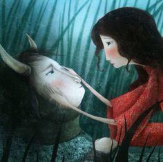 The Beauty and The Beast - A Bela e a Fera  do IG da @manubluu Manuela Adreani