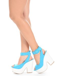 Shop ModDeals.com for Turquoise Retro Chic Ankle Strap Platform Heels  in our cheap trendy Shoes category. Find trendy cheap clothing for women, discount shoes, jewelry sales, perfume & cheap accessor