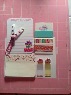 Birthday Sample Set on Etsy, $3.75