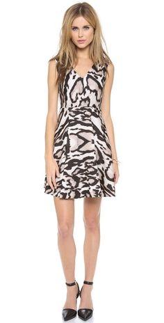 Diane von Furstenberg Renna Printed Dress | SHOPBOP
