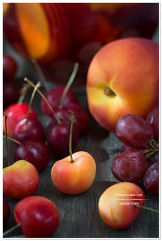 Summer Fruits - Sangria Ingredients | TeenieCakes.com #foodphotography#stilllife