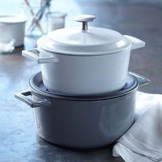 Williams-Sonoma Open Kitchen Cast-Iron Round Dutch Oven #Williams-Sonoma