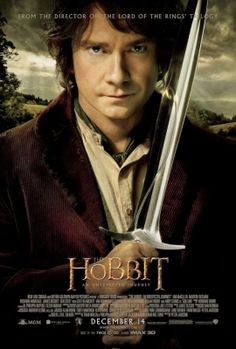 """The Hobbit: An Unexpected Journey"" movie poster with Bilbo"