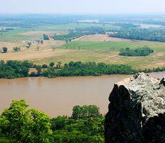 Arkansas-looks like Petit Jean and Arkansas river