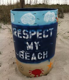 Respect all our beaches.. I took this photo at Myrtle Beach State Park Beach..