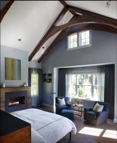 Cathedral Ceiling, Master Bed