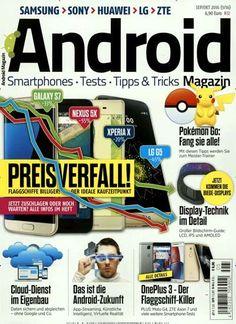 Pokemon Go: Fang sie alle! Gefunden in: Android Magazin, Nr. 5/2016