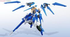 Armor Girls Project: Infinite Stratos Blue Tears x Cecilia Alcott by Bandai. A hefty figure for a fairly decent price. This gal weighs in at almost 2lbs. Originally on pre-order in the 90's range, now that it's become so high demand, the few sites that still have figures are selling at around $150 (still decent considering the level of detail, and bulk). This is a must have for Mech fans, and can still be found here: http://www.amazon.com/Project-Infinite-Stratos-Cecilia-Alcott/dp/B006G4F856