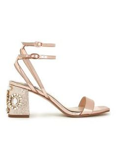CHARM Rose Gold Sandals