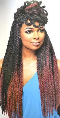 Samba Crochet Hair Styles : ... braids twist and locks on Pinterest Locs, Box braids and Havana