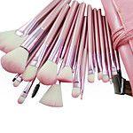 12Pcs Cosmetic Makeup Tool Blush Foundation Brush Set Box +15Colors Shimmer Eyeshadow Palette+1PCS Brush Cleaning Tool 2016 - €9.3