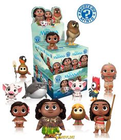 Disney's Moana Funko figures Announced http://popvinyl.net/other/disneys-moana-funko-figures-announced/  #disney #funko #moana #MoanaDorbz #MoanaPop!