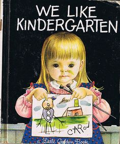 We Like Kindergarten, Little Golden Book, Eloise Wilkin