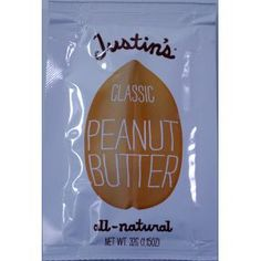 this is the peanut butter (honey flavor) that's in Starbucks' protein bistro box Justin's Peanut Butter, Starbucks Protein, Bistro Box, Travel Size Products, Gourmet Recipes, Traveling By Yourself, Snacks, Classic, Natural