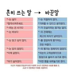 Good Sentences, Korean Language, Study Tips, Writing Tips, Life Lessons, Helpful Hints, Infographic, Knowledge, Typography