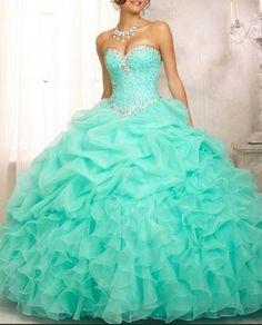 Gorgeous Tiffany blue dress!!!